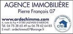 Agence  PIERRE FRANCOIS 07