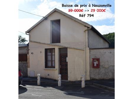 vente maison Nouzonville