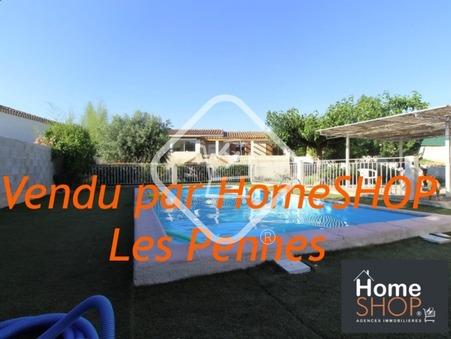 vente maison LES PENNES MIRABEAU  471 500€