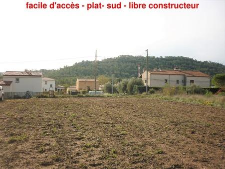 vente terrain Carnoules