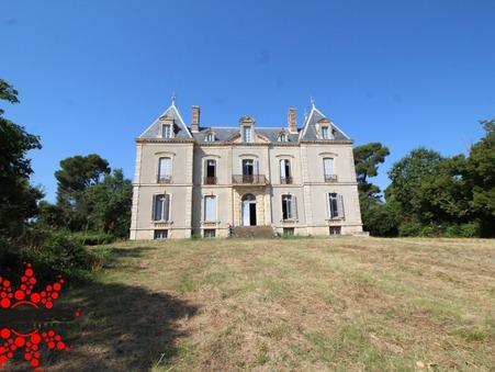 vente chateau Montady