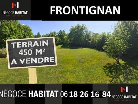 vente terrain Frontignan