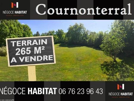 vente terrain Cournonterral