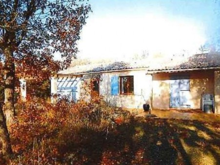 vente maison Regusse