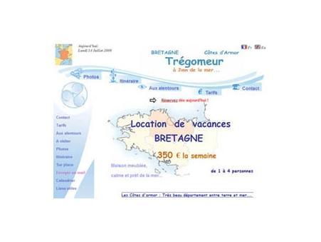 location maison Tregomeur