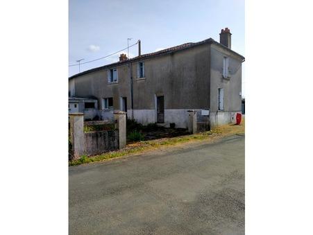 vente maison Etusson