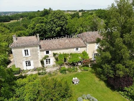 vente maison Duras  599 980€