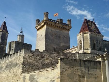 vente chateau Uzes