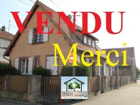 vente maison Gumbrechtshoffen