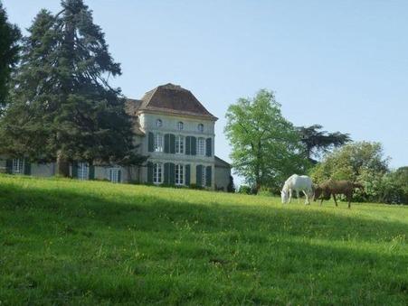 vente chateau Saint germain et mons