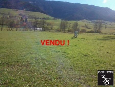 vente terrain Saint-martin-en-vercors