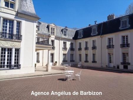 vente chateau Fontainebleau
