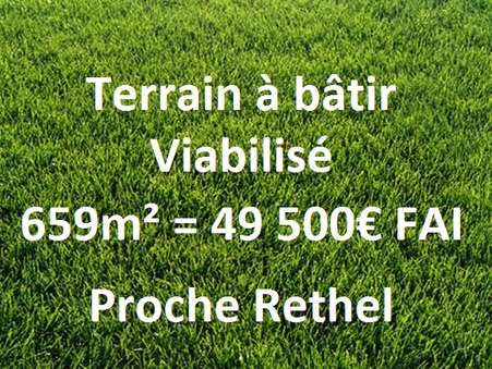 vente terrain Rethel