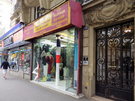 vente local Paris