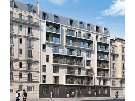 vente neuf Paris 18eme arrondissement