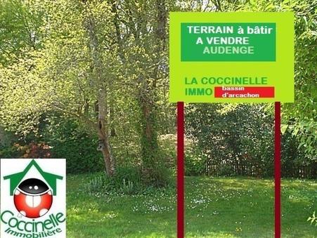 vente terrain Audenge