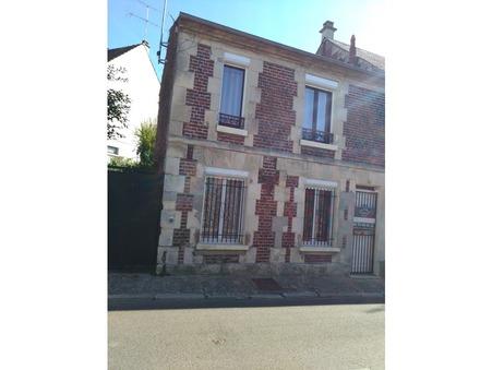 vente maison Mogneville