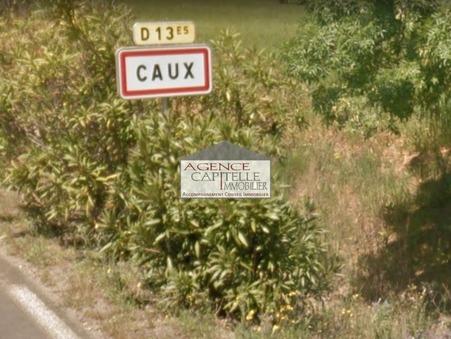 vente terrain Caux