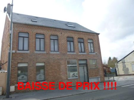 vente maison Aulnoye aymeries  156 000€