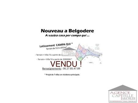 vente neuf Belgodere