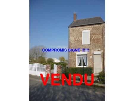 vente maison BERLAIMONT  109 500€