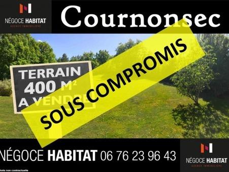 vente terrain Cournonsec