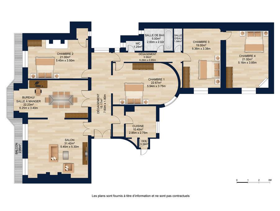 Vente Appartement PARIS 12EME ARRONDISSEMENT 4