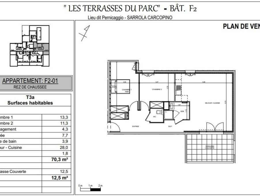 Vente Appartement Sarrola carcopino 2