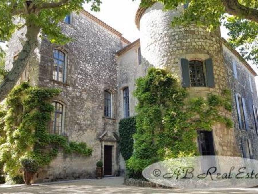 Vente Chateau Uzès 1 970 000 €