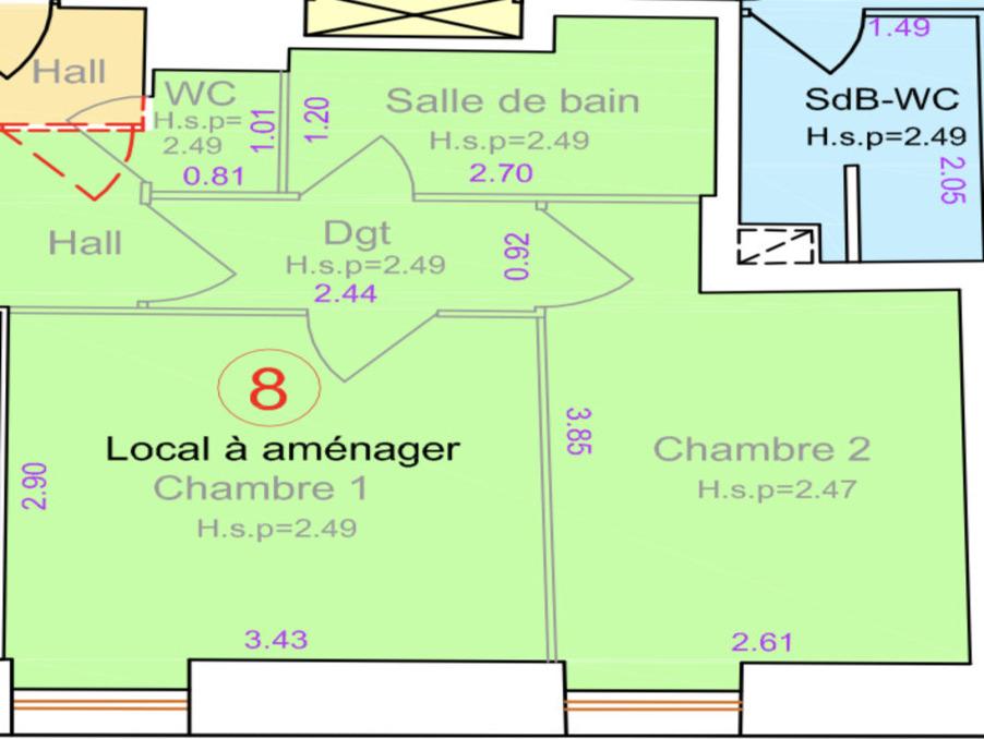 Vente Appartement LYON 5EME ARRONDISSEMENT  145 000 €