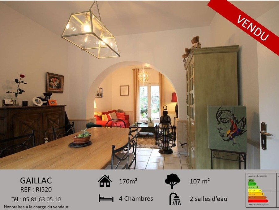 Vente Maison GAILLAC  239 000 €