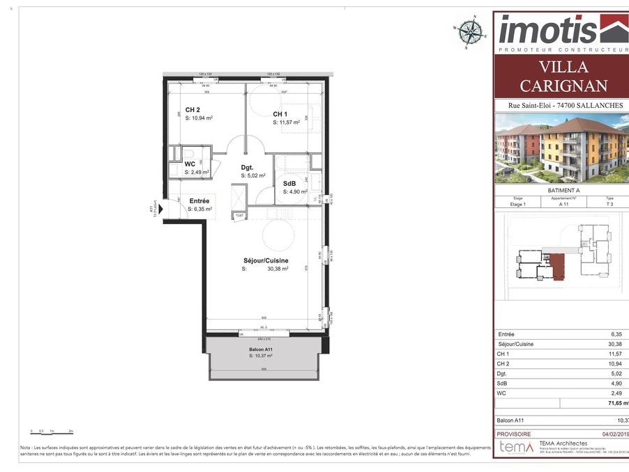 Vente Appartement SALLANCHES  278 000 €
