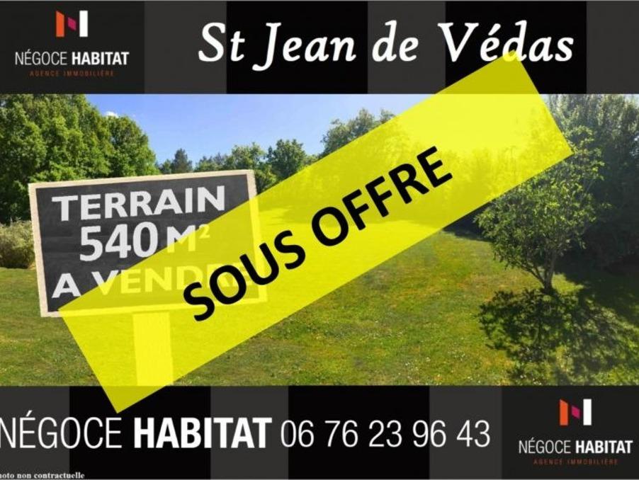 Vente Terrain St jean de vedas  282 000 €