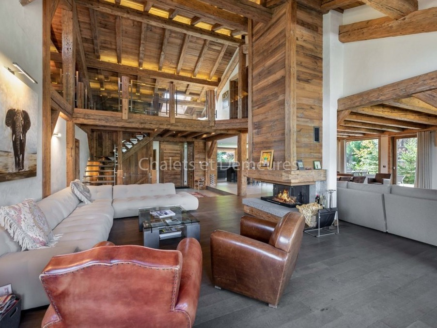 Vente Maison  avec jardin  Megeve 8 400 000 €