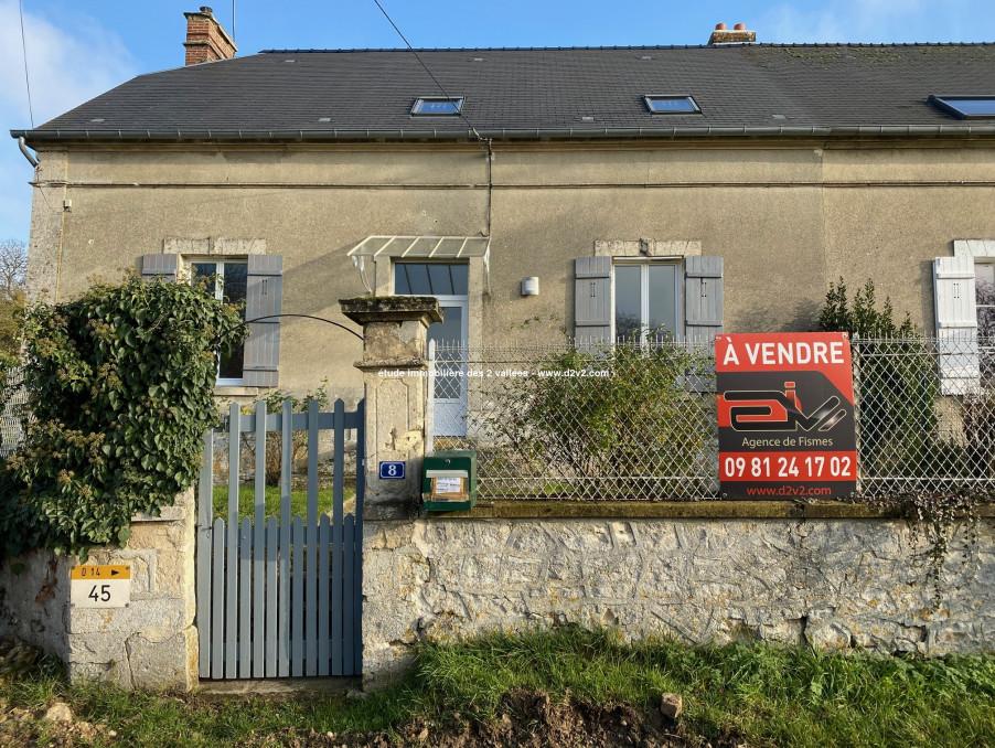 Vente Maison  séjour 35 m²  Chery chartreuve  140 000 €
