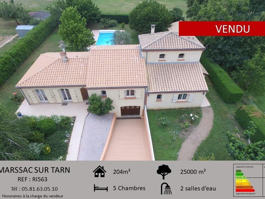 Vente Maison  avec jardin  MARSSAC SUR TARN  380 000 €