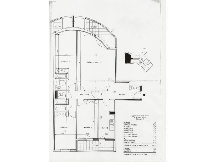 Location Appartement LEVALLOIS PERRET 10