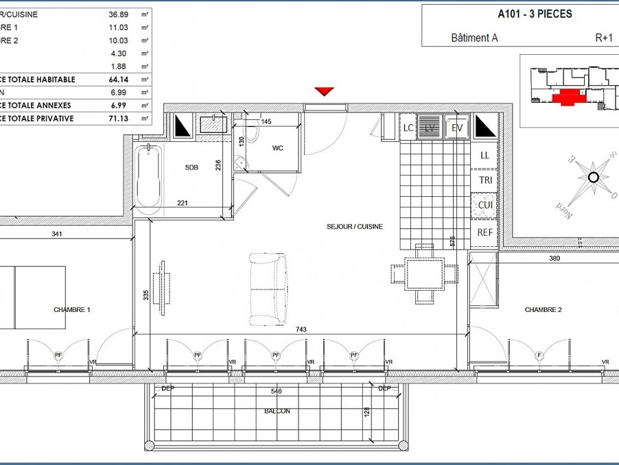 Vente Appartement CLAMART 2