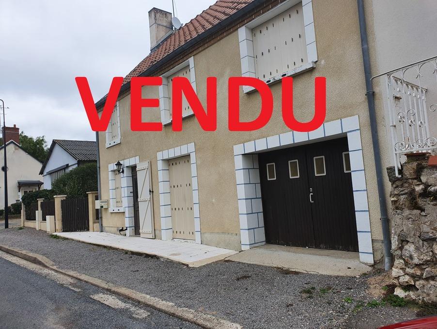 Vente Maison  avec jardin  Lury sur arnon 60 000 €