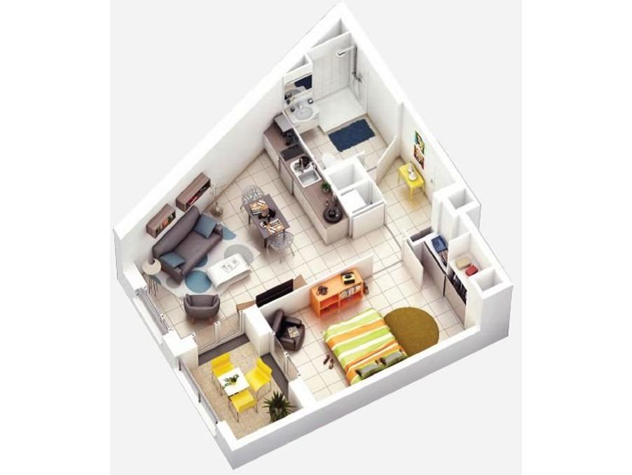 Vente Appartement  TOULOUSE  170 000 €