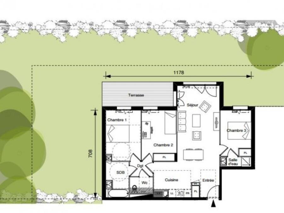 Vente Appartement RAMONVILLE SAINT AGNE 2