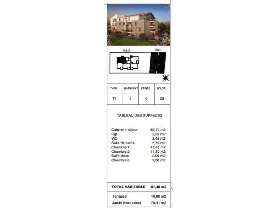 Vente Appartement RAMONVILLE SAINT AGNE 3
