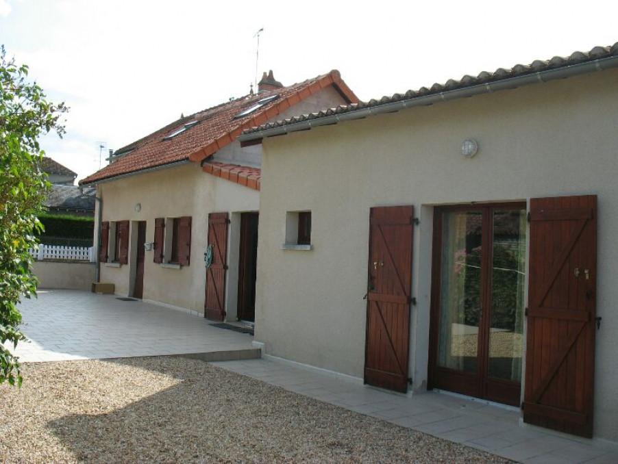 Vente Maison  avec jardin  CHAPELLE VIVIERS  155 000 €