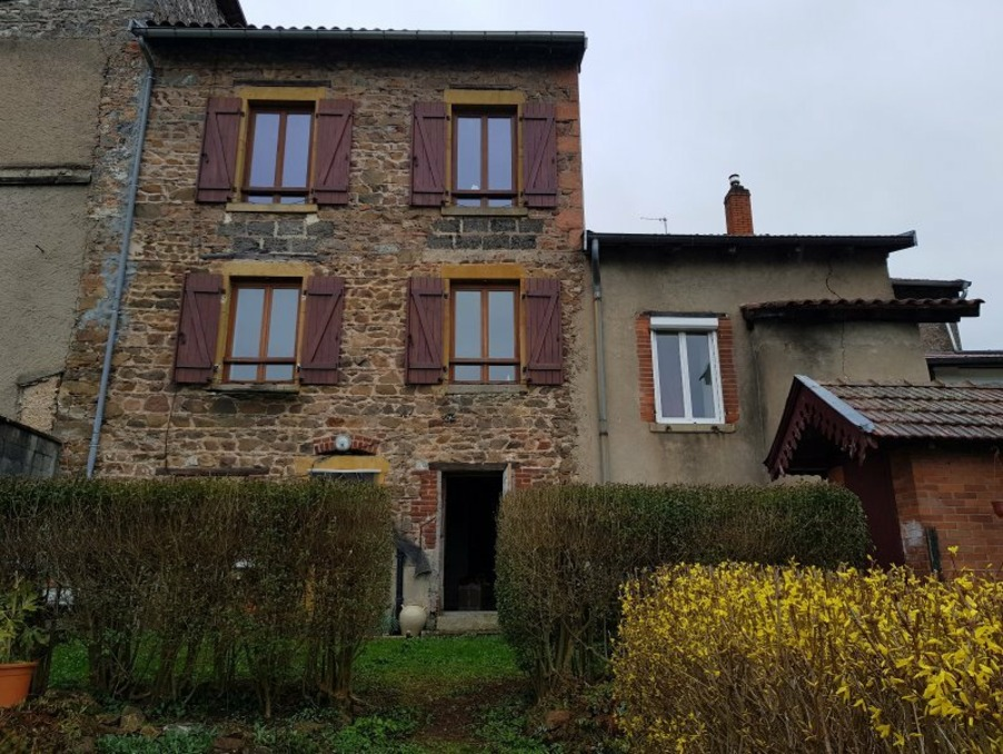 Vente Maison Bourg de thizy 2
