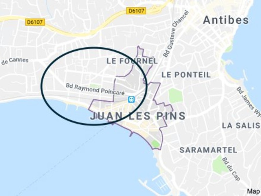 Vente Appartement Juan-les-Pins  194 000 €