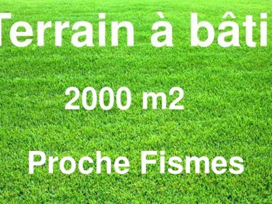 Vente Terrain FISMES 44 500 €