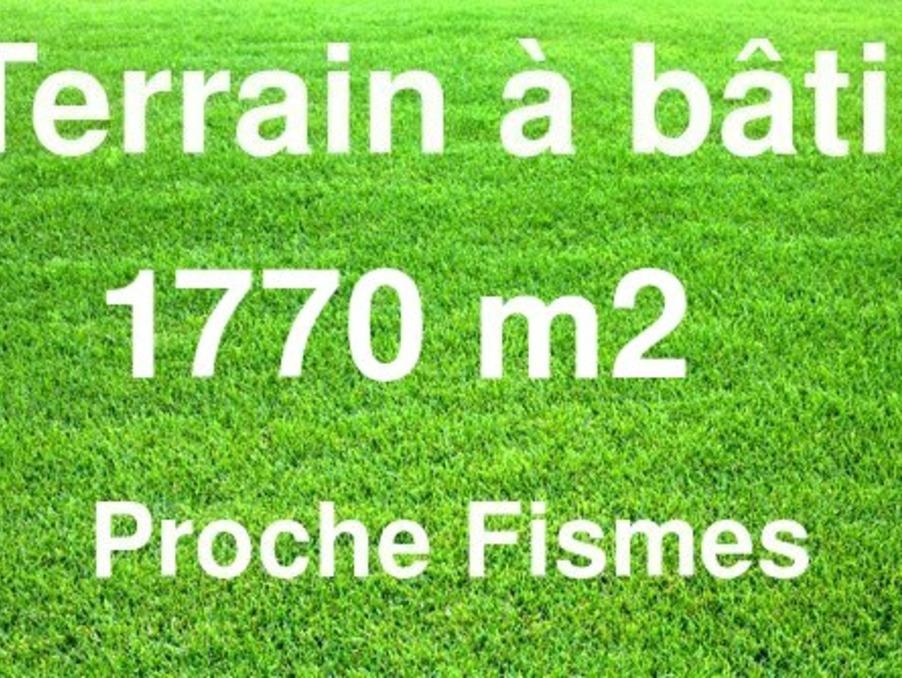 Vente Terrain FISMES 40 500 €