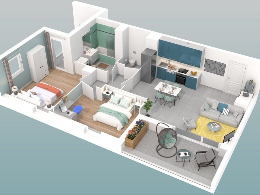 Vente Appartement VILLEURBANNE  303 000 €