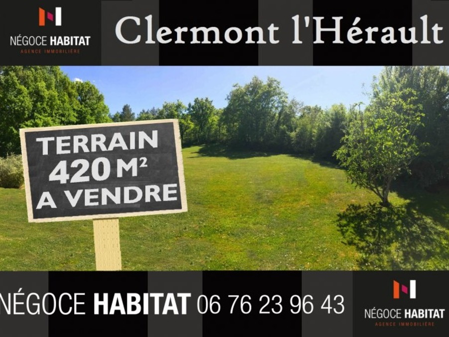 Vente Terrain Clermont l herault  104 000 €