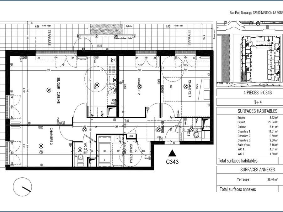 Vente Appartement MEUDON 2